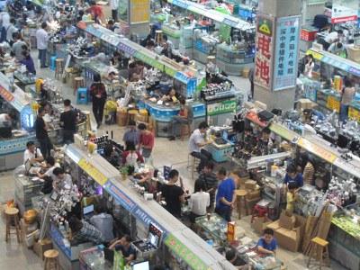 Schenzhen Electronics MArket
